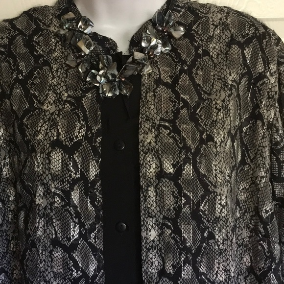 d16c3d5fb4d MLLE GABRIELLE plus size duster dress